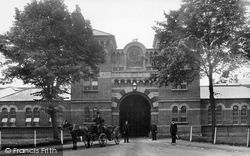 Crowthorne, Broadmoor Asylum Entrance 1910