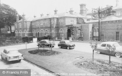 Crowthorne, Broadmoor Hospital, Female Side Main Entrance c.1960