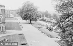 Crowthorne, Broadmoor Hospital Terrace c.1960
