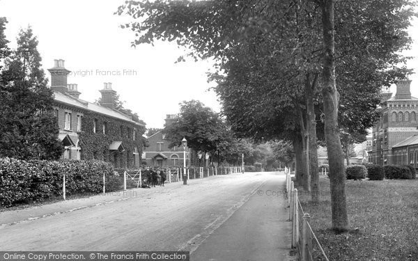 Photo of Crowthorne, Broadmoor, The Terrace 1910