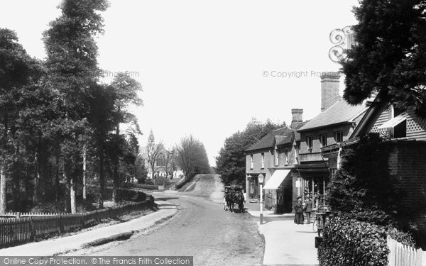 Photo of Crowthorne, Church Street 1908