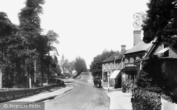 Crowthorne, Church Street 1908