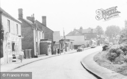 Crowthorne, Church Street c.1960