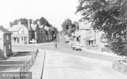 Crowthorne, Dukes Ride And Broadmoor Road c.1960