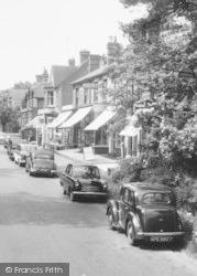 Crowthorne, Dukes Ride, Cars c.1960