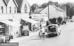 Crowthorne, Dukes Ride Shops c.1960