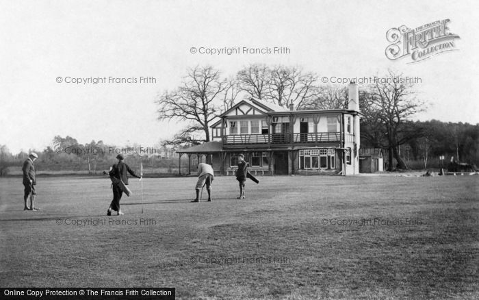 Photo of Crowthorne, East Berks Golf Links 1908