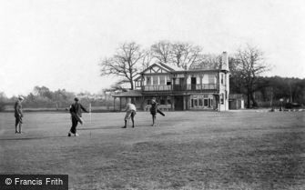 Crowthorne, East Berks Golf Links 1908