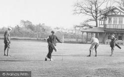 Crowthorne, East Berks Golf Links, Putting 1908