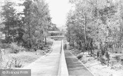 Crowthorne, Edgebarrow Secondary Modern School Entrance c.1960