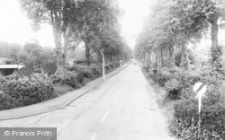 Crowthorne, Lower Broadmoor Road c.1960