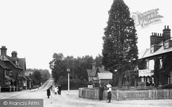 Crowthorne, Sandhurst Road 1906