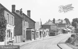 Crowthorne, Shops On Church Street c.1955