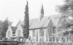 Crowthorne, St John The Baptist's Church c.1955