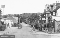 Crowthorne, The Cafe, Dukes Ride c.1955