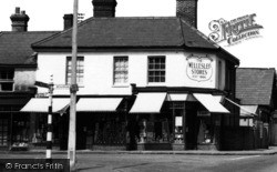 Crowthorne, The Wellesley Stores c.1955