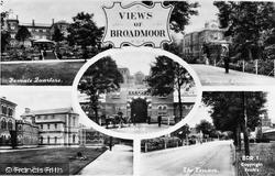 Crowthorne, Views Of Broadmoor 1910