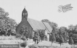 Crowton, The Church c.1955
