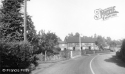 Crowton, The Village c.1950