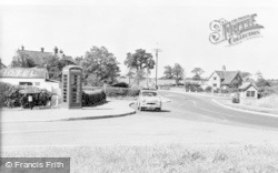 Crowton, The Village c.1955