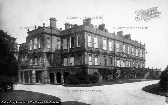 Photo of Croxteth Hall, 1887