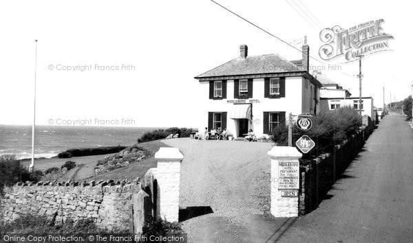 Photo of Croyde, Middleboro Hotel c.1960