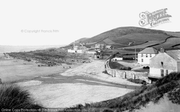 Photo of Croyde, The Bay 1894