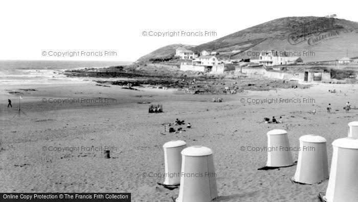 Croyde, the Beach and Headland c1960