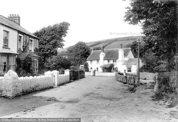Photo of Croyde, the Village 1912, ref. 64544