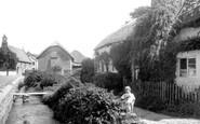 Croyde, Village, Old Cottages 1936