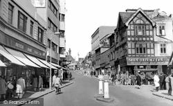 Croydon, Church Street c.1950