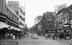 Croydon, Church Street c.1955