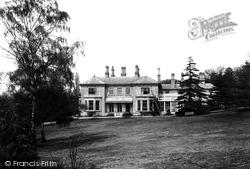 Croydon, 'grange Wood' 1902