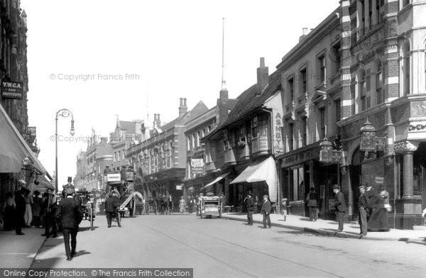 Croydon, High Street 1900