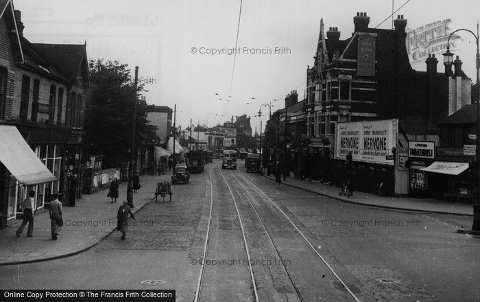 Photo of Croydon, London Road, Broad Green c.1950
