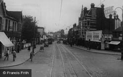 Croydon, London Road, Broad Green c.1950