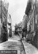 Croydon, Middle Street 1893