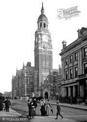Croydon, Municipal Buildings 1896
