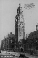 Croydon, New Municipal Buildings 1896