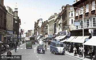 Croydon, North End 1957