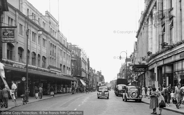 Photo of Croydon, North End c.1955
