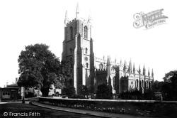 Croydon, St John's Church c.1890