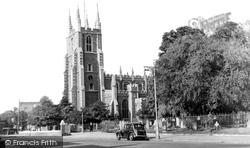 Croydon, St John's Church c.1950