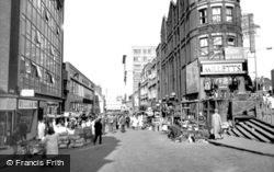 Croydon, Surrey Street Market c.1965