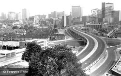 Croydon, The Flyover c.1969