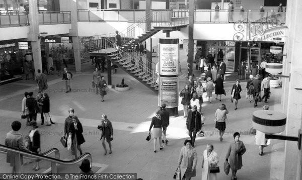 Photo of Croydon, The New (Whitgift) Shopping Centre c.1970