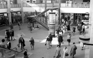 Croydon, the New (Whitgift) Shopping Centre c1970