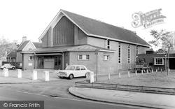 Croydon, The Parish Church Hall c.1970