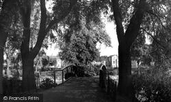 Croydon, Wandle Park c.1955