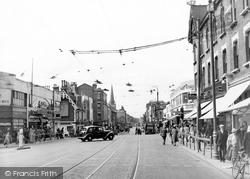 Croydon, West Croydon c.1950